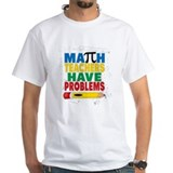 Math problems Mens Classic White T-Shirts