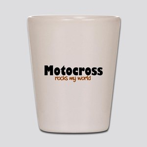 'Motocross' Shot Glass