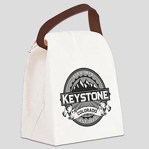 Keystone Grey Canvas Lunch Bag