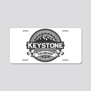 Keystone Grey Aluminum License Plate