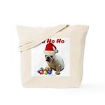 Ho Ho Ho Bulldog Tote Bag