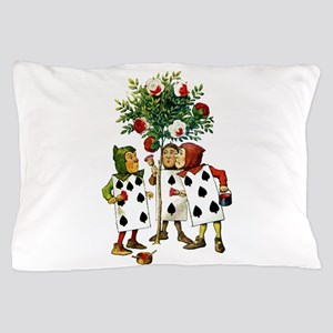 ALICE- PAINTING THE QUEENS ROSES Pillow Case