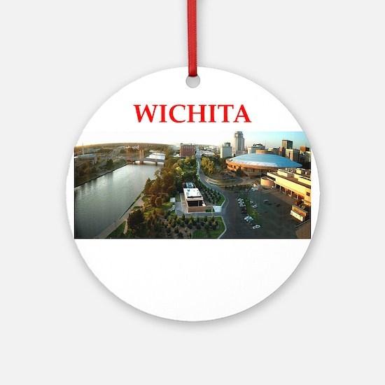 wichita Ornament (Round)