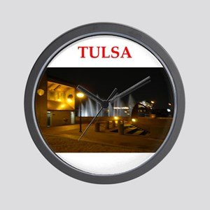 tulsa Wall Clock
