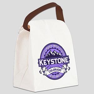 Keystone Purple Canvas Lunch Bag