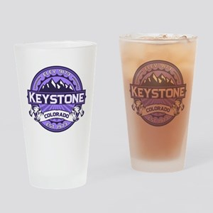 Keystone Purple Drinking Glass