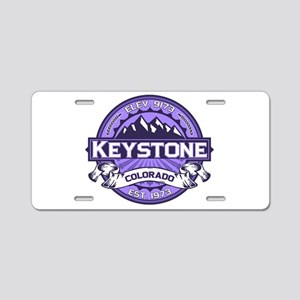 Keystone Purple Aluminum License Plate