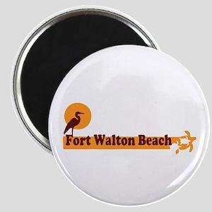 Fort Walton Beach - Beach Design. Magnet