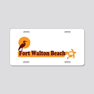 Fort Walton Beach - Beach Design. Aluminum License