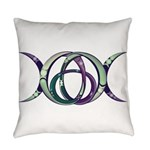 Triquetra Triple Everyday Pillow