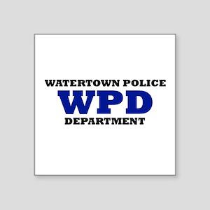 WATERTOWN POLICE DEPARTMENT Sticker
