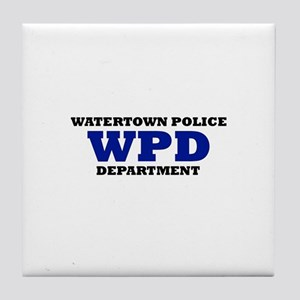 WATERTOWN POLICE DEPARTMENT Tile Coaster
