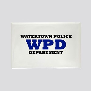 WATERTOWN POLICE DEPARTMENT Rectangle Magnet