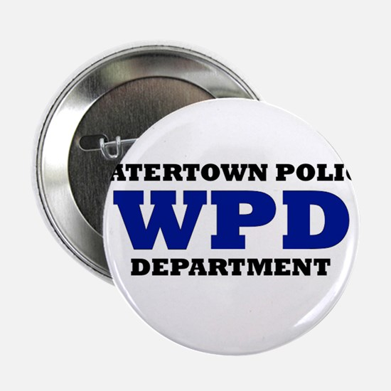 """WATERTOWN POLICE DEPARTMENT 2.25"""" Button"""