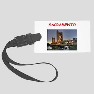 sacramento Luggage Tag