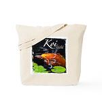 Orange Koi Tote Bag