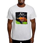 Orange Koi Ash Grey T-Shirt