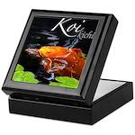Orange Koi Keepsake Box