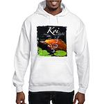 Orange Koi Hooded Sweatshirt