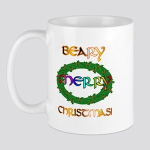 BEARY MERRY CHRISTMAS Mug