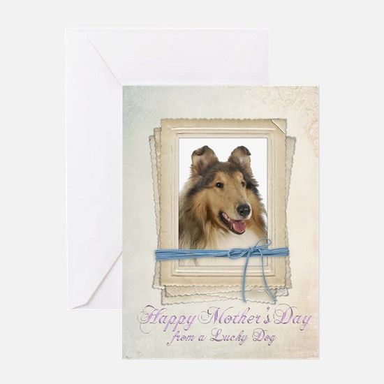 Collie Mother's Day Card