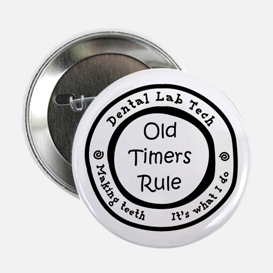 """Old Timers Rule 2.25"""" Button"""