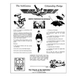 Pledge of the SubGenius Small Poster