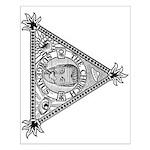 Sacred Church Logo Small Poster