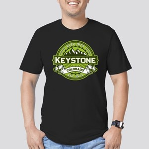 Keystone Green Men's Fitted T-Shirt (dark)
