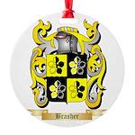 Brasher Round Ornament