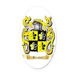 Brasher Oval Car Magnet