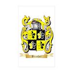 Brasher Sticker (Rectangle 50 pk)