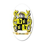 Brasher 20x12 Oval Wall Decal
