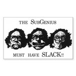 Must have Slack Rectangle Sticker