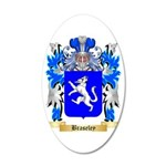 Braseley 35x21 Oval Wall Decal