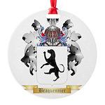 Braquennier Round Ornament