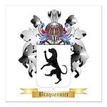 Braquennier Square Car Magnet 3