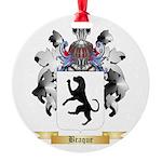 Braque Round Ornament