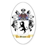 Braque Sticker (Oval 10 pk)