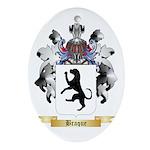 Braque Ornament (Oval)