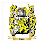 Brant Square Car Magnet 3
