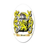 Brant 20x12 Oval Wall Decal