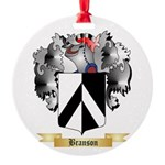Branson Round Ornament