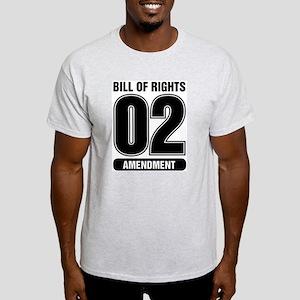 02 Team BW Ash Grey T-Shirt