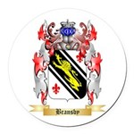 Bransby Round Car Magnet