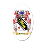 Bransby 20x12 Oval Wall Decal