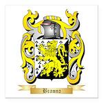 Branno Square Car Magnet 3