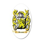 Branno 20x12 Oval Wall Decal