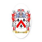 Brannagh Oval Car Magnet