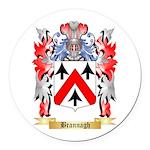 Brannagh Round Car Magnet